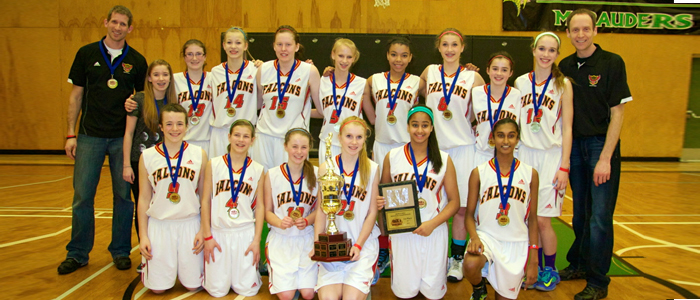 2014 Gr. 8 BC Champions: W.A. Fraser Falcons