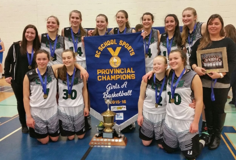 2016 A BC Champions - Langley Christian Lightening