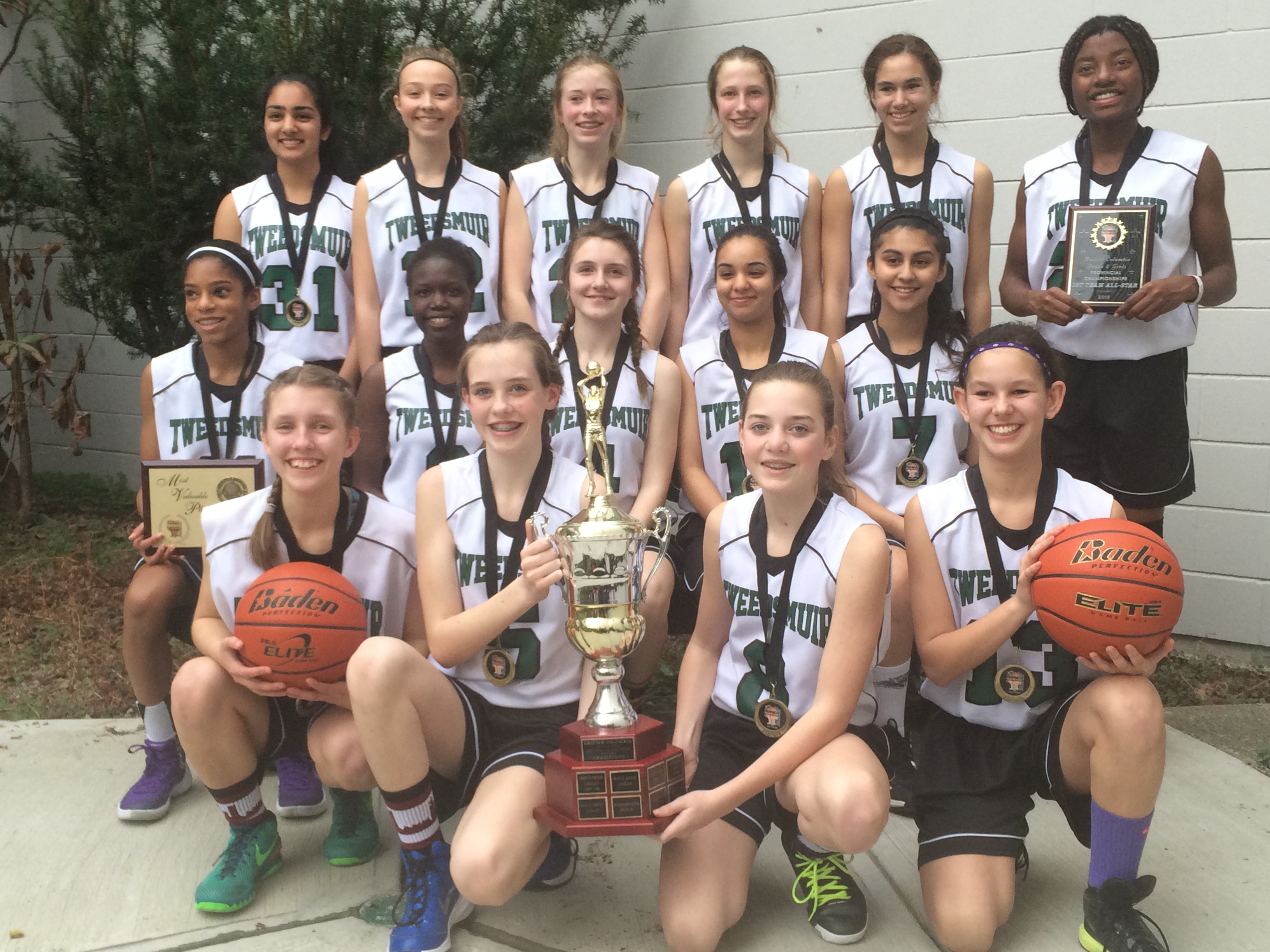 2016 Gr. 8 BC Champions: Lord Tweedsmuir Panthers