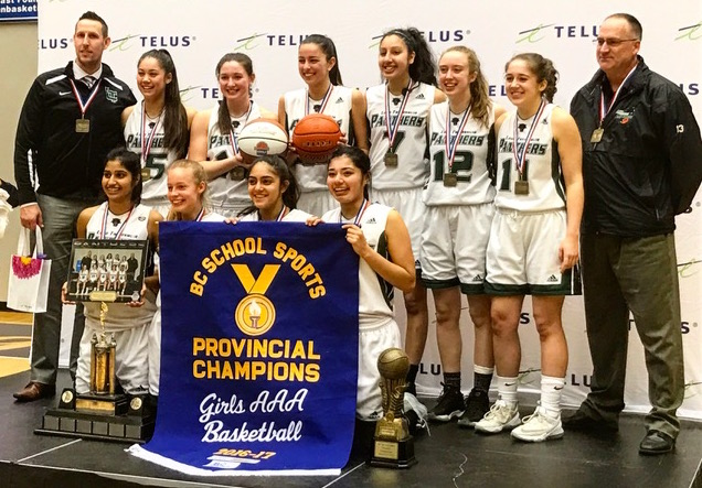 2017 AAA BC Champions - Lord Tweedsmuir Panthers