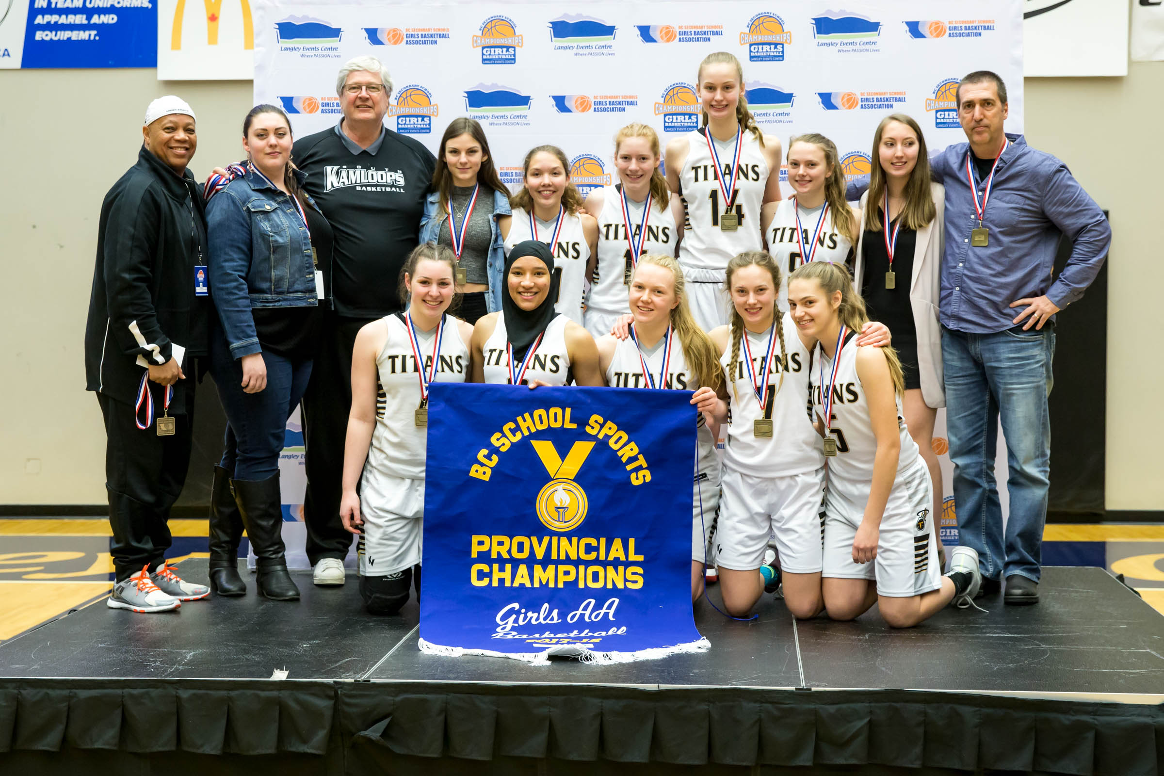 2018 - AA Champions - South Kamloops Titans