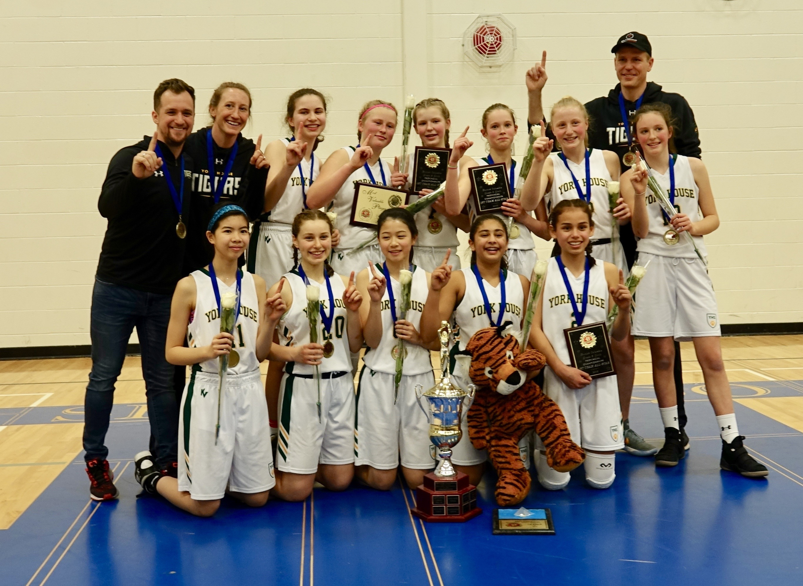 2018 - Gr. 8 Champions - York House Tigers