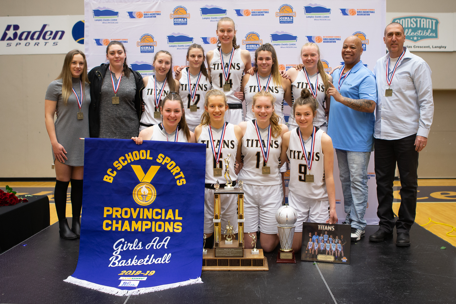 2019 AA Champions - South Kamloops Titans