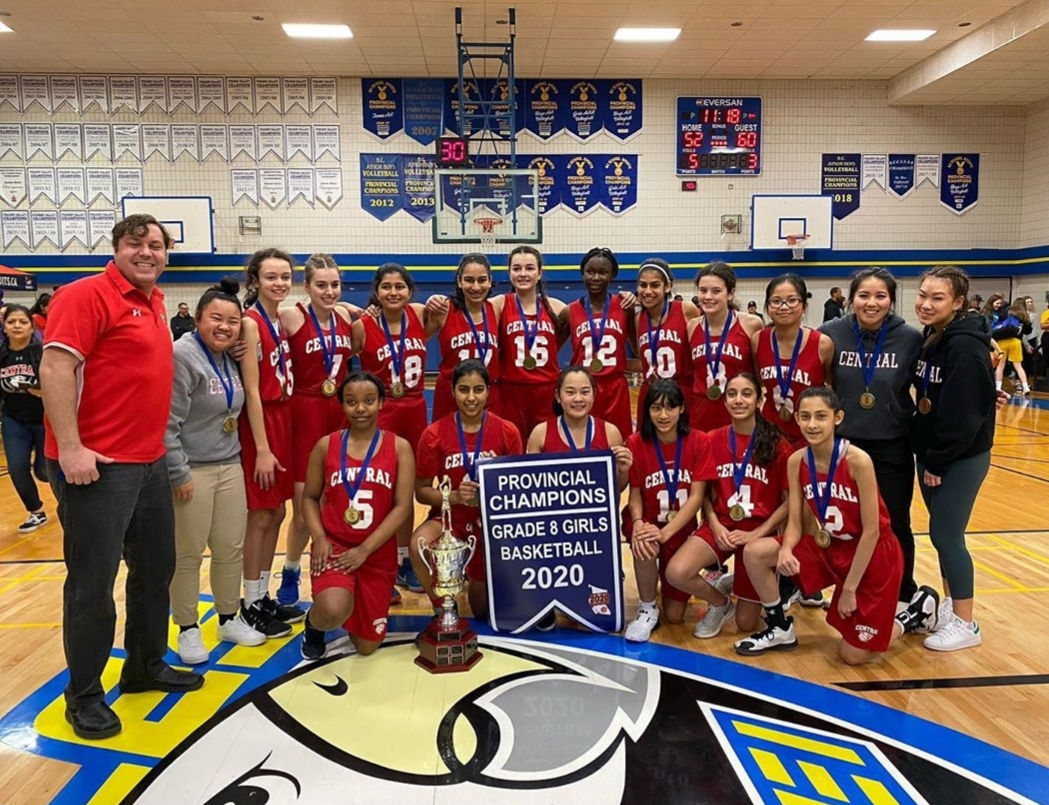 2020 Grade 8 Champions - Burnaby Central